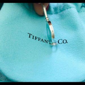 Tiffany & Co. Jewelry - Authentic Tiffany and co blue heart key pendant